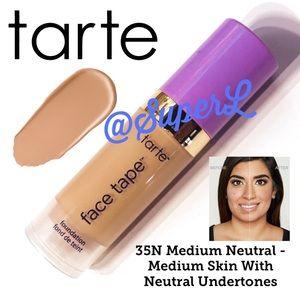🧸 2/$15 Tarte Shape Tape Foundation 35N Medium